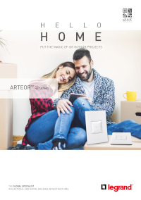 Arteor Wiring Devices/Home Automation